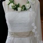 Bridal circlet.