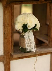 Garden rose bouquet.